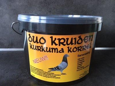 2 KG Traseco - Duo Kruiden Kurkuma Korrel